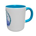 Un joli mug avec un bébé phoque dessus